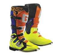 Gaerne G-React Boots For Men's Orange/Blue/Yellow View