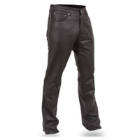 First Classics Mens Cowhide Classic Leather Pant
