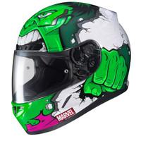 HJC CL-17 Hulk MC-4 Full Face Helmet For Men