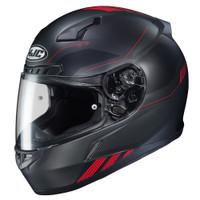 HJX CL-17 Combat Full Face Helmet For Men Black/Red View