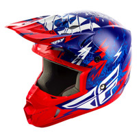 Fly Racing Dirt Youth Kinetic Shocked Helmet