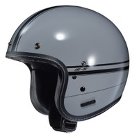 HJC IS-5 Ladon Open Face Helmet For Men Gray View