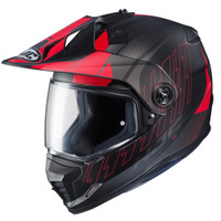 HJC DS-X1 Gravity Full Face Helmet For Men Red Main View