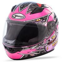 GMax Youth GM-49Y Full Face Alien Helmet