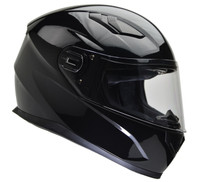 Vega Ultra Street Full Face Helmet Gloss Black View