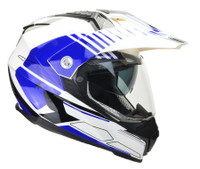 Vega Cross Tour 2 Dual Sport Helmet For Men Blue View