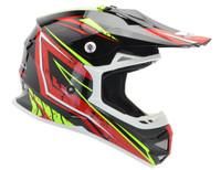 Vega VRX Graphic Off Road Helmet For Men's Red View