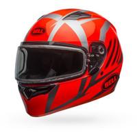 Bell Qualifier Blaze Snow Helmet Dual Lens