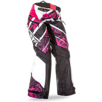 Fly Racing Kinetic Boot Cut Race Pant For Women Red