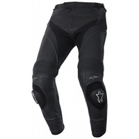 Alpinestars Missile Airflow Leather Pants Front Side View