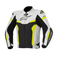 Alpinetars Celer Leather Jacket Yellow