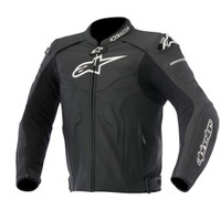 Alpinetars Celer Leather Jacket Black
