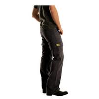 Drayko Cargo Jeans Black