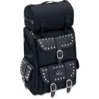 Saddlemen S3500S Deluxe Sissy Bar Bag with Studs Main View