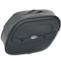 Saddlemen Cruisn Saddlebag with Shock Cutaway
