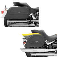 Saddlemen Cruisn Slant Saddlebags Custom Fit