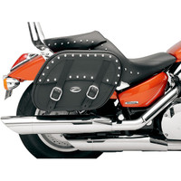 Saddlemen Desperado Saddlebag with Shock Cutaway