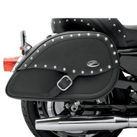 Saddlemen Desperado Teardrop Saddlebag With Shock Cutaway  1