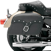 Saddlemen Midnight Express Desperado Slant Saddlebag