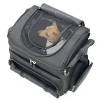 Saddlemen Pet Voyager Luggage Top Mesh Closure