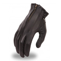 First Racing Ladies Gel Palm Driving Zipper Gloves