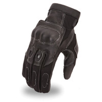 First Racing Textile & Analine Racing Leather Gloves