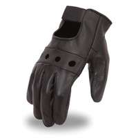 First Racing Unlined Cowhide Driving Gloves