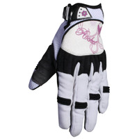 Joe Rocket Heartbreaker Women's Gloves White
