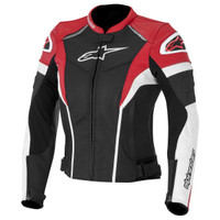 Alpinestars Stella GP Plus R Leather Women's Jackets Red