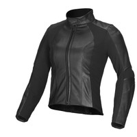 Alpinestars Stella Vika Leather Womens Jackets Black