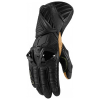 Icon Hypersport Long Gloves Black