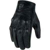 Icon Pursuit Gloves Black Front 1