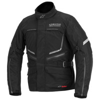 Alpinestars Valparaiso Drystar Jacket Black Front Side View