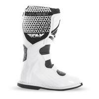 Fly Racing Maverik Boots  White 1