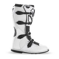 Fly Racing Maverik Boots  White 2