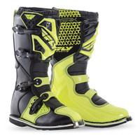 Fly Racing Maverik Boots Yellow