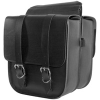Willie & Max Adjustable Saddlebag Black