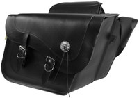 Willie & Max Deluxe Fleetside Slant Saddlebags Black