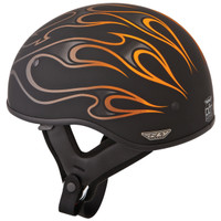 Fly Racing .357 Flame Helmet  orange