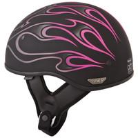 Fly Racing .357 Flame Helmet  Pink