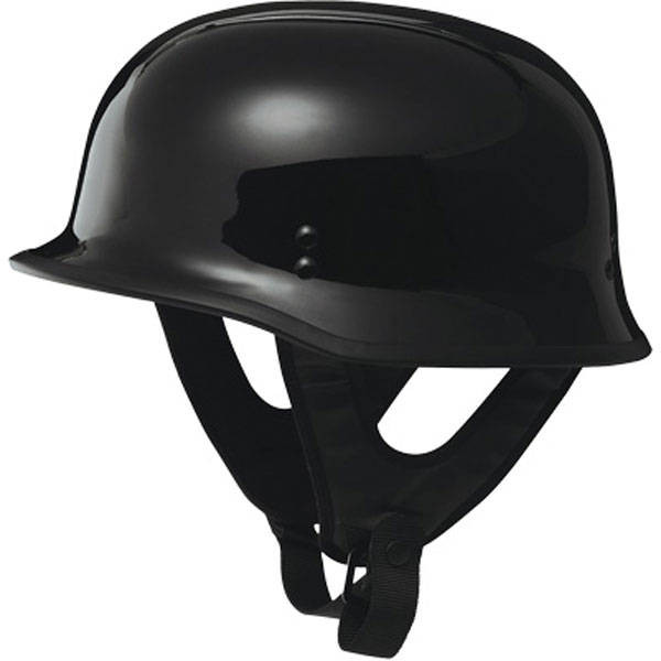 Fly Racing 9MM Solid Helmet Black 1