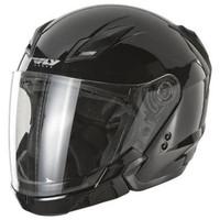 Fly Racing Tourist Solid Helmet
