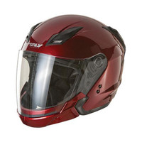 Fly Racing Tourist Solid Helmet Red