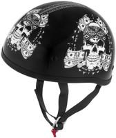 Skid Lid Helmets Original Thug Skull Helmet