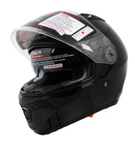 Stealth F117 Full Face Helmet Black Front