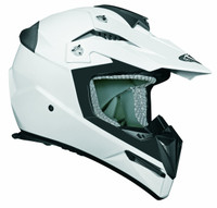 Stealth Flyte Off-Road White Helmet