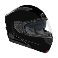 Stealth Vertice Full Face Modular Helmet Black