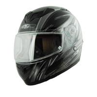 Vega Insight Snow Full Face Helmet with Razor Graphic