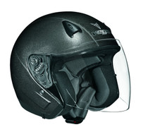 Vega Helmets NT200 Open Face Helmet (Grey Metallic)