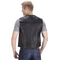 Viking Cycle Raider Motorcycle Vest for Men Back Side